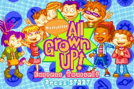 All Grown Up - Express Yourself