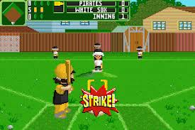 backyard sports baseball 2007 gbafun is a website let you play