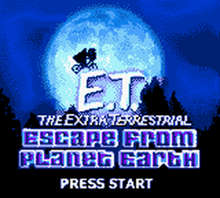 E.T. The Extra Terrestrial - Escape from Planet Earth