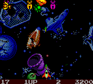 Galaga - Destination Earth