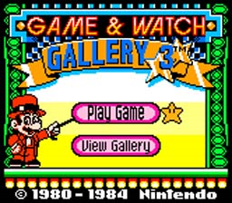 Game n Watch Gallery 3
