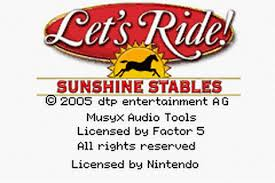 Let's Ride - Sunshine Stables