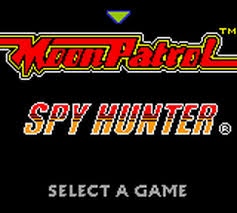 Moon Patrol n Spy Hunter