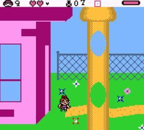 Powerpuff Girls, The - Bad Mojo Jojo gameboy color   Gbafun