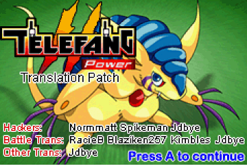 Telefang 2: Power Version (English Patched)